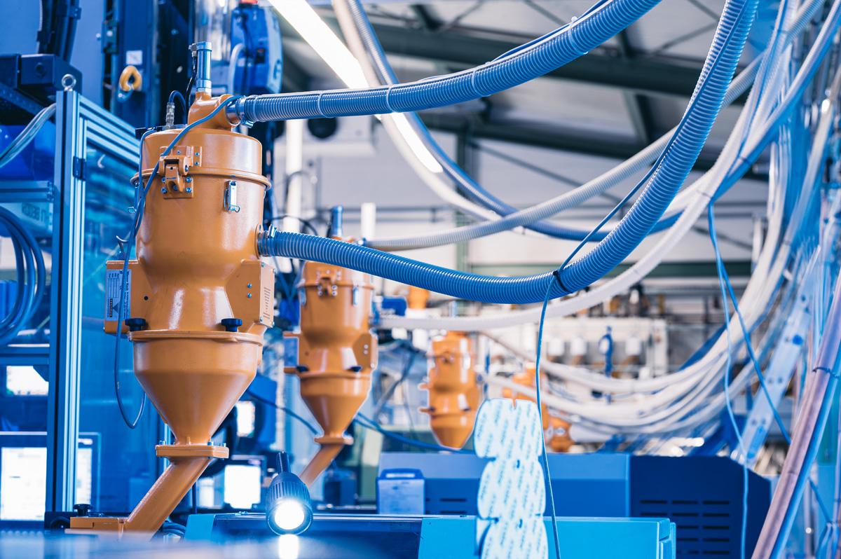 Detailansicht der Montagefertigung von der Dauer GmbH